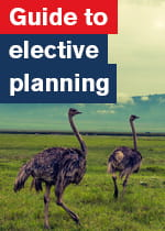 Elective guide cover
