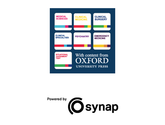 Oxford University Press titles, powered by Synap