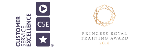 Customer Service Excellence and Princess Royal Training Award 2018 logo